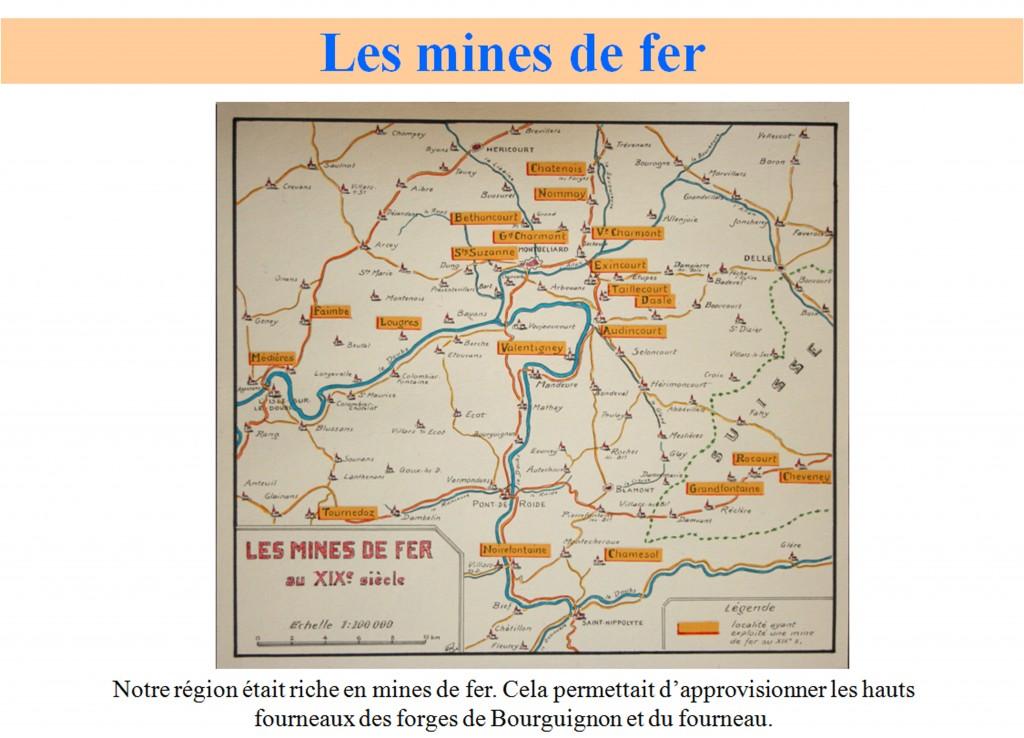 Mines de fer de la région