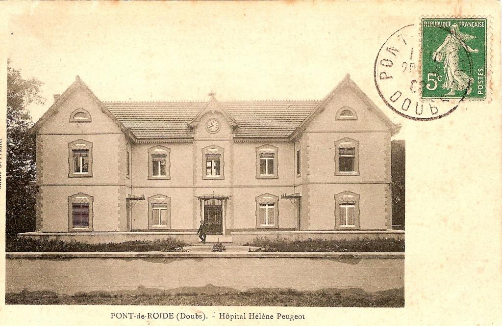 Hôpital H. Peugeot façade sud_ASPIR