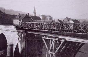 Pont de Pont de Roide en 1944